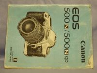 Canon EOS 500N -ORIGINAL MAKERS- Instructions £2.49